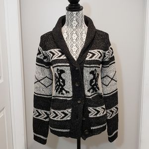 Bluenotes Button-Up Cardigan, Womens Size M